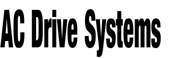 AC Drive Systems